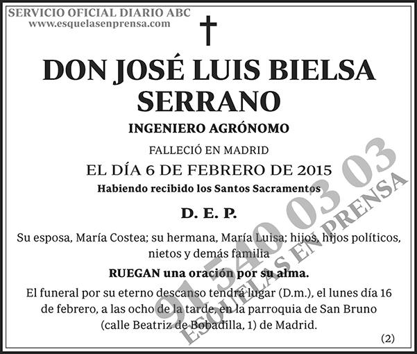 José Luis Bielsa Serrano